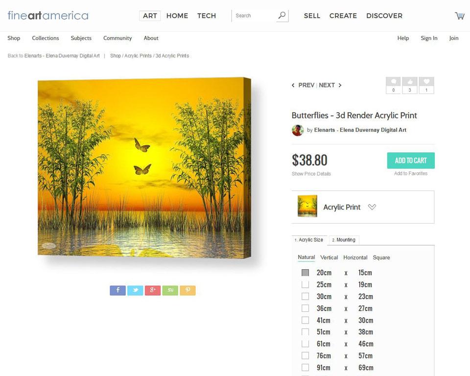 Butterflies canvas print on fineartamerica
