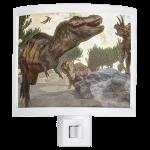 Tyrannosaurus rex dinosaur night shade