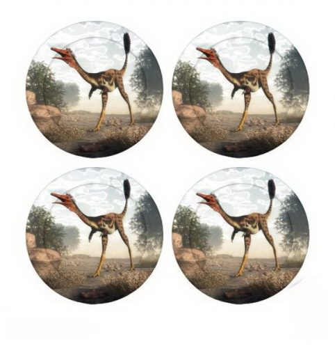 Mononykus dinosaur button covers