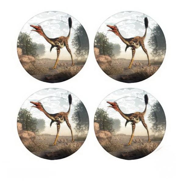 Mononykus dinosaur button covers