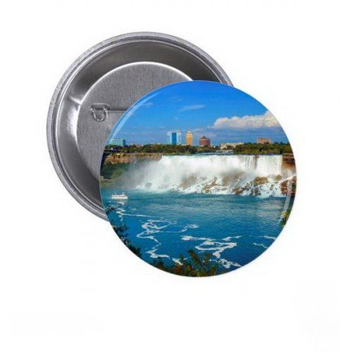 Niagara falls, Canada Pinback Button